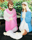 Empire set Vintage Nativity Blow Mold Baby Jesus Mary Joseph Christmas Set 27