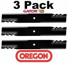 3 Pack Oregon 596 319 Mower Blade Gator G5 fits Dixie Chopper 30227 60E