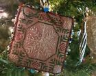 finished completed cross stitch ornament The Prairie Schooler January