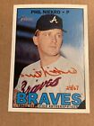 Phil Niekro 2016 Topps Heritage Real One Red Auto Autograph Atlanta Braves 16