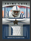 Marvin Harrison 2006 Leaf Rookies and Stars Prime Cuts Jersey Patch 50 50