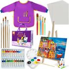 glokers Kids Acrylic Painting Supplies Set Includes Everything toStart Painting