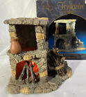 Fontanini Nativity Village LIGHTED FIREPLACE 94802 For 5 Nativity IN BOX