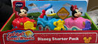 VTech Go Go Smart Wheels Disney Starter Pack with Mickey Donald and Minnie NEW