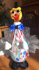 vintage murano glass clown decenter with stopper