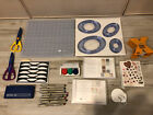 Creative Memories LOT Of 20 Red Blue Blades Cutting System Mat Oval Circles