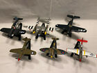 Matchbox Collectibles WWII US Fighter Plane Die Cast Set of 6
