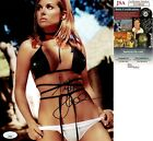 TIFFANI AMBER THIESSEN SIGNED 8X10 PHOTO SAVED BY THE BELL JSA COA