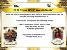 2021 Topps WWE Road to Wrestlemania Wrestling Hobby Box (Presell) March Release