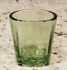 BRAND NEW AND SIGNED  Olive On The Rocks Glass  Fire and Light Recycled