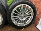 17 inch ATS multi spoke staggered 7.5inch fronts 9 inch rears
