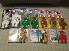 10 New Beanie Baby McDonalds Germania,Glory,Maple, Britannia,Erin,Osito,Spangle