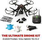 Quadcopter RC Drone with 1080p HD Video Drone Camera Long Range Brushless Motors