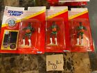 Lot of 3 1991 Starting Lineup REGGIE LEWIS Sports Action Figure & Coin