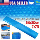Round Solar Swimming Pool Cover Spa Outdoor Bubble PE Thermal Blanket 2121M