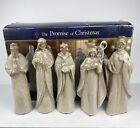 The Promise of Christmas Nativity Set by Robert Stanley 5 Piece Set w Box 2012