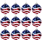 LUOEM July of 4th Ball Hanging Independence Day Party Decor Patriotic Ball Tree