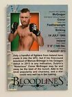 2013 Topps UFC Bloodlines Trading Cards 14