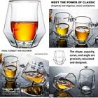 Gootus Whiskey Glasses Set Of 2 Hand Blown Double Walled Glass With Premium Gi