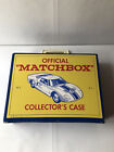Official Matchbox Collectors Case with 35 cars and trucks