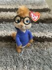 Ty Beanie Baby Simon Alvin and the Chipmunks The Squeakquel Never Played With