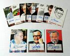 1998 Marvel : The Silver Age Complete AUTOGRAPHED Chase Set STAN LEE autograph