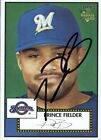 Prince Fielder Cards, Rookie Cards and Autographed Memorabilia Guide 12