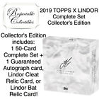 2019 Topps X Lindor Sealed Collector's Box - 50-Card Set + Relic Auto - Tatis RC