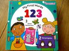 MY FIRST WORDS 123 BOARD BOOK COUNTING toddler boy girl numbers NEW