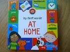 MY FIRST WORDS AT HOME BOARD BOOK toddler boy girl learning NEW