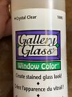 2 Gallery Glass Window Color PLAID 8oz Crystal Clear
