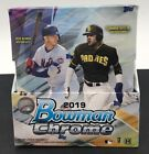 2019 BOWMAN CHROME Hobby Box 2 Auto Factory Sealed Vlad, Tatis Jr, Alonso RC