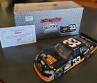 Clint Bowyer 1 24 Diecast 2010 33 Wheaties Nascar Only 1000 made RARE COA