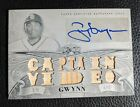 2013 TOPPS TRIPLE WHITE WHALE TONY GWYNN AUTOGRAPH AUTO GAME USED ONE OF ONE 1 1
