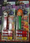 2 PEZ CANDY AND DISPENSER- Disney My Friends Tigger & Pooh Darby & Buster