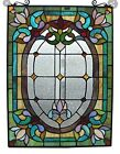 Fine Art Lighting Stained Glass 18X24 Window Panel 18x24in Perfect Condition