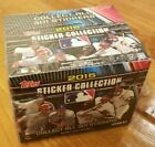 2015 Topps Baseball Sticker Collection box Factory Sealed