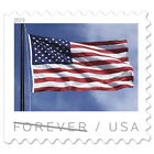 USPS 'US Flag (2019)' Forever Postage Stamps, Full Booklet of 20 (Free Shipping)