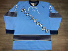 Authentic Mitchell and Ness Pittsburgh Penguins Andy Bathgate Jersey 48 XL RARE