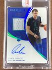 2018-19 Immaculate Luka Doncic Rookie Patch Auto RPA RC Autograph Jersey # 77