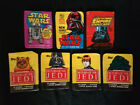 1977 80 83 STAR WARS WRAPPERS.STAR WARS,EMPIRE STRIKES BACK & RETURN OF THE JEDI