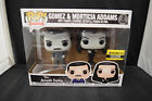 Funko Pop! Addams Family Morticia & Gomez EE Exclusive w Soft Protector