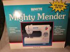 WHITE Mighty Mender Sewing Machine W100 Mechanical Portable Light Compact NEW