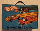 VINTAGE 1975 REDLINE HOT WHEELS 24 CAR COLLECTOR CASE VERY NICE CONDITION