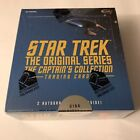 2018 Star Trek TOS Captain's Collection Factory Sealed Trading Card Hobby Box