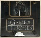 Game of Thrones Complete Series Trading Cards Sealed Box, 2 Autographs