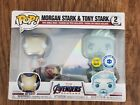 Funko Pop! Marvel Morgan & Tony Stark I Love You 3000 PIAB Exclusive 2-pack