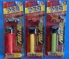 PEZ Magnetic Pull & Go Pixar Cars Lightning McQueen Tow Mater & Sally Dispensers