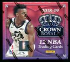 2018 19 Panini Crown Royale Factory Sealed Hobby Basketball Box