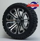 GOLF CART 14 LANCER WHEELS RIMS and 22 GATOR ALL TERRAIN TIRES DOT RATED